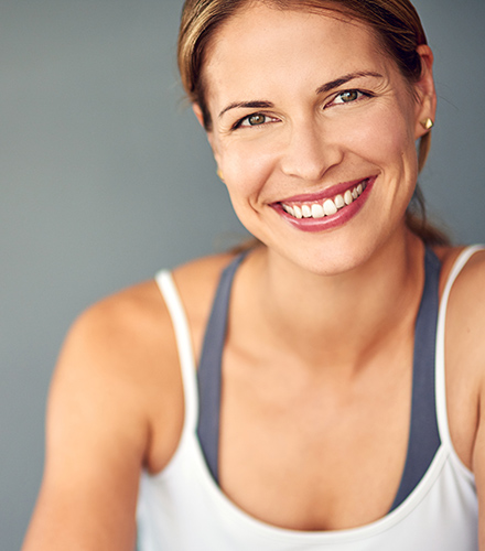 Pain Management Jacksonville FL Active Woman Smiling